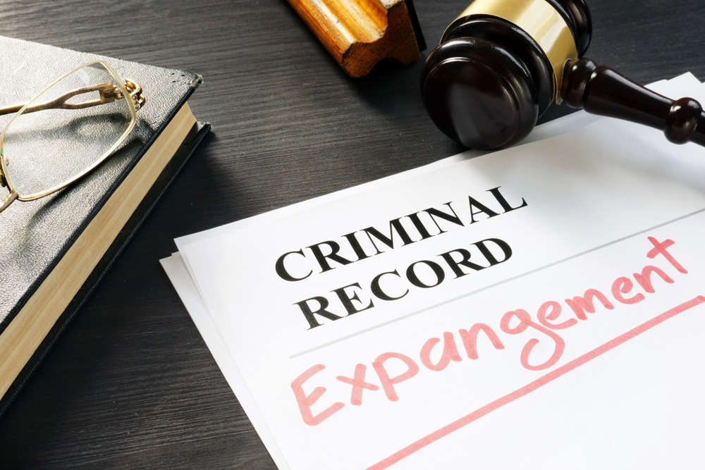 document stating criminal record expungement
